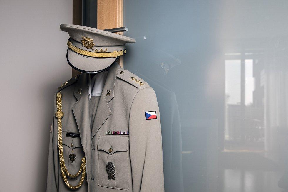 """David Svovoda: """"Uniforma ke mně patří, mám hodnost nadporučíka."""""""