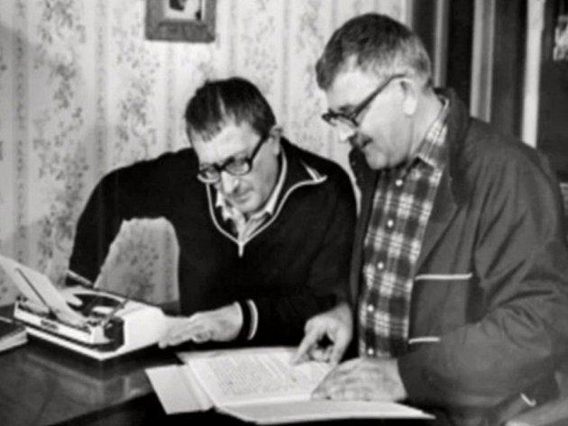 Klasikové světové sci-fi, bratři Strugačtí, ještě spolu. V pondělí podlehl rakovině mladší z nich, Boris, který svého bratra přežil o dlouhých 21 let.