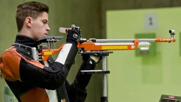 Letní olympijské hry Rio de Janeiro 2016, 8. srpna, vzduchová puška muži, kvalifikace, Filip Nepejchal.