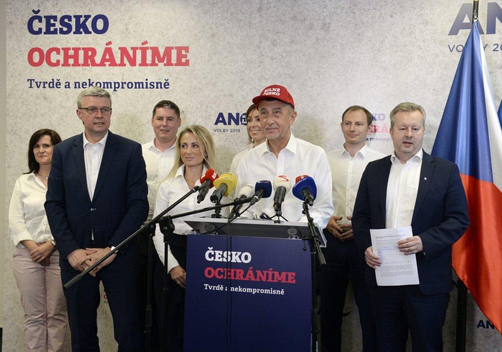 Hnutí ANO oficiálně zahájilo předvolební kampaň
