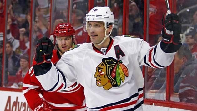Trojnásobný vítěz Stanley Cupu Patrick Sharp.