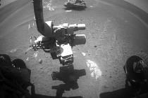 Snímek z robotického vozítka Opportunity na Marsu. Ilustrační foto