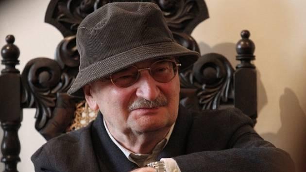 Polský dramatik, spisovatel a kreslíř Slawomir Mroźek.