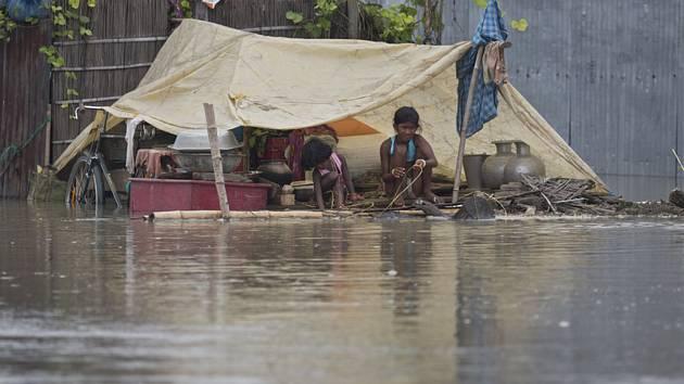 Záplavy v Indii