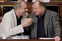 Jaroslav Zavadil a Vítězslav Jandák vehementně prosazují růst platů zákonodárců.