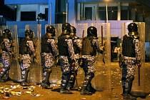 Nepokoje na Maledivách.