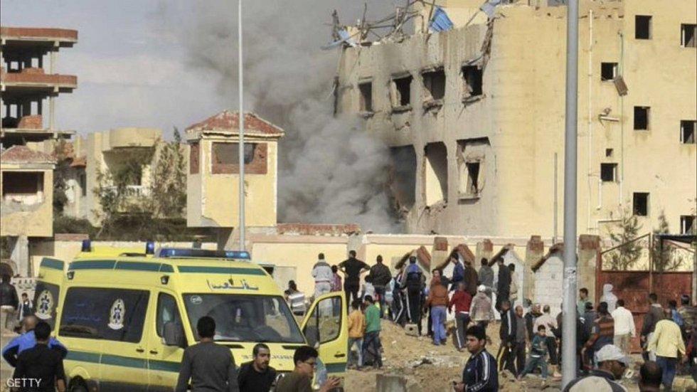 útok na Sinaji