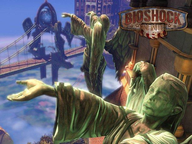 Počítačová hra Bioshock Infinite.