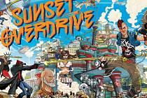 Počítačová hra Sunset Overdrive.