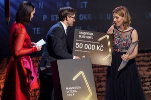Cenu za blog roku si odnesla Michaela Duffková.