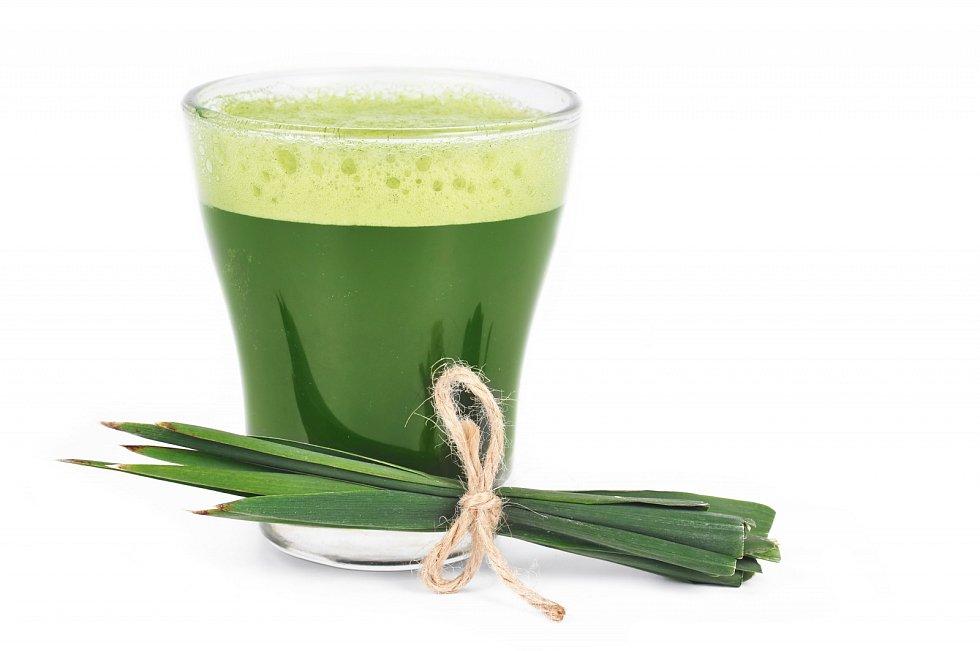 Mladý ječmen – superpotravina, obsahuje ohromné množství vitaminů a minerálů.