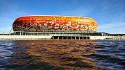 Mordovia Arena (Saransk, kapacita 45 015). Stavba stadionu začala v roce 2012 na počest výročí tisíci let od doby, kdy se etnikum Mordvinců sjednotilo s ruským národem. Po šampionátu bude část stadionu zbourána, čímž bude kapacita snížena na 25 000.