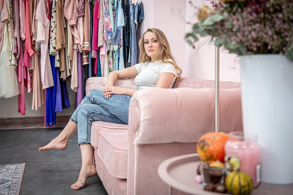 Eva Šindlerová, majitelka obchodu s módou v centru Ostravy