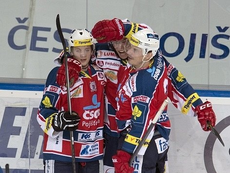 Sparta vs. Pardubice - radost hostů
