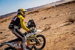 Motocyklista Jan Brabec na Rallye Dakar 2020
