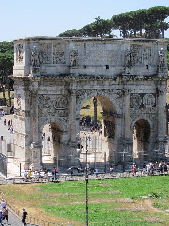 Konstantinův oblouk v Římě