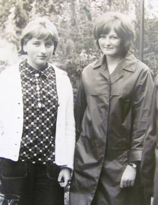 Drahomíra Šinoglová s dcerou.