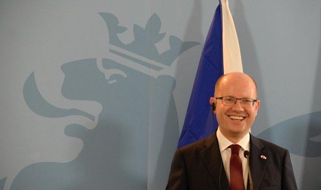 Premiér Bohuslav Sobotka v Lucemburku