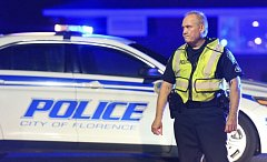 Střelba v Jižní Karolíně. Americká policie.