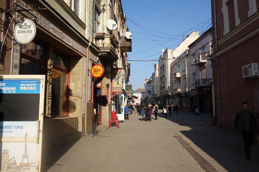 Ulice Užhorodu