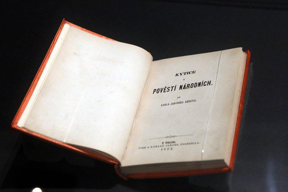 První vydání Kytice z pověstí národních z roku 1853.