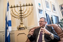 Velvyslanec Státu Izrael v České republice Daniel Meron