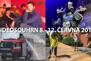 Videosouhrn 8.–12. července 2019