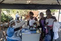 Testy na covid v Zimbabwe