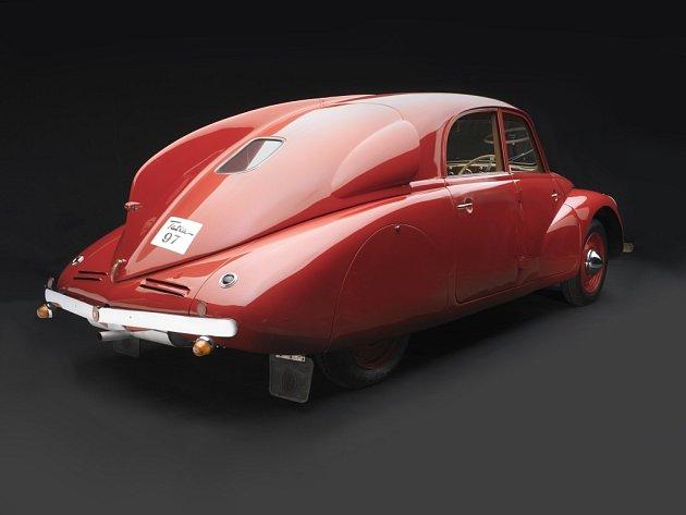 1938 Tatra T97, sbírka Lane Motor Museum.
