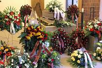 Pohřeb Jaroslava Holíka v Jihlavě