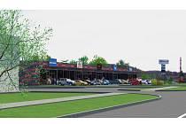 V Bruntále se otevírá nové nákupní centrum Fastmall