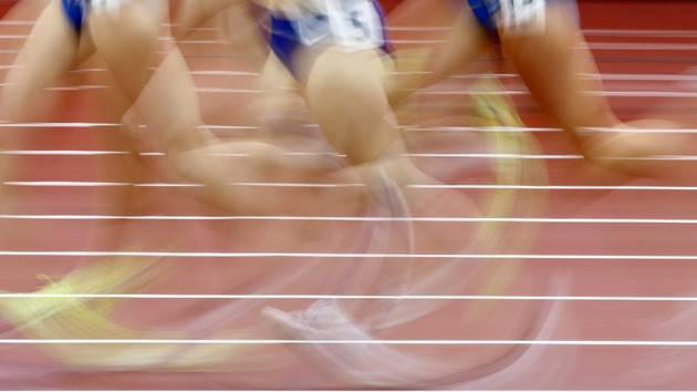 Atletika, běh - ilustrační foto.