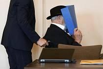 Bývalý příslušník SS a dozorce v nacistickém koncentračním táboře Stutthof za druhé světové války Bruno Dey u soudu v Hamburku (na snímku z 23. července 2020)