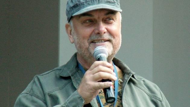 TRAMP VLADIMÍR ČECH v Ústí nad Labem na festivalu Porta, který několik let moderoval.