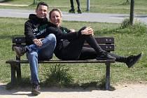 Jiří Ježek s manželkou Soňou