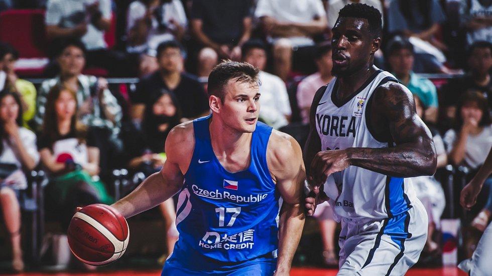 Basketbal, ČR - Korea
