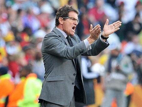 Fabio Capello svedl neúspěch na chybující rozhodčí.