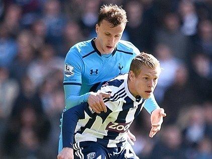 Matěj Vydra při zápase proti Tottenhamu