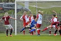 Nejprestižnějším ženským fotbalovým utkáním v Česku je souboj Slavie a Sparty. Pokud se tedy nehraje Liga mistryň.