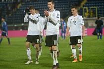 Favorizovaní Němci nasázeli San Marinu v kvalifikaci MS osm gólů.