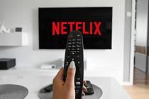 Internetové televize. Netflix. Ilustrační foto
