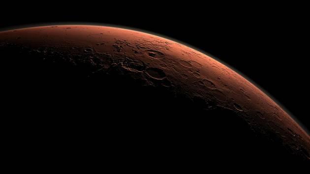V atmosféře planety Mars se našel halogenový plyn. Jeho původ představuje chemickou hádanku