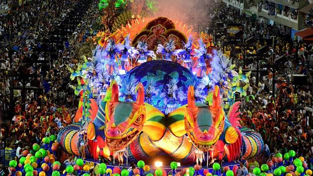 V brazilském Rio de Janeiru odstartoval tradiční karneval