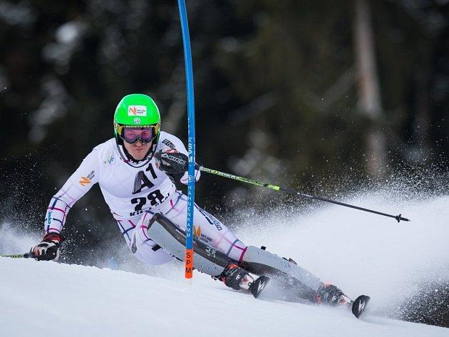 Lyžař Kryštof Krýzl neprošel prvním kolem slalomu Světového poháru v Bormiu.