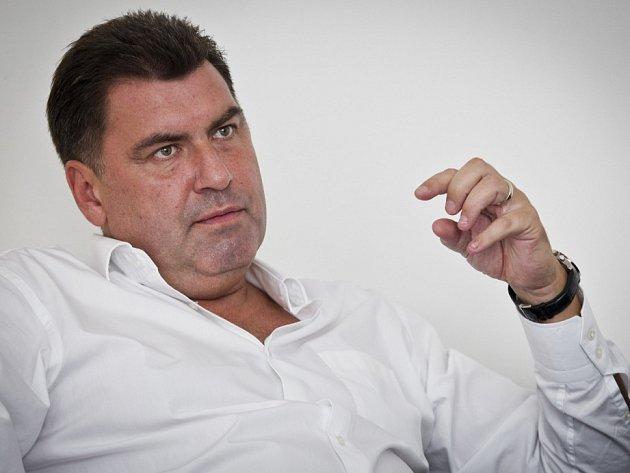 Martin Nejedlý, statutární místopředseda SPOZ, poskytl 1. října v Praze rozhovor Deníku.