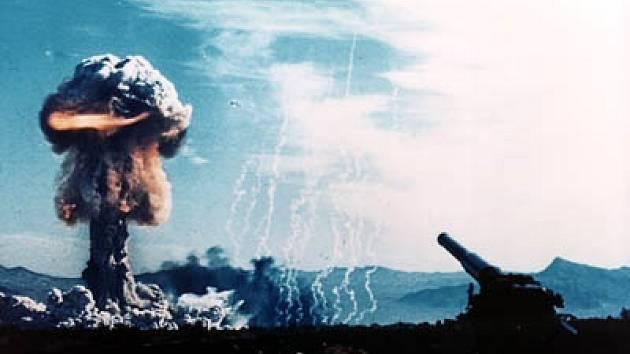 Zkouška jaderné zbraně.