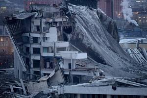 V Rusku se zřítil sportovní stadion.