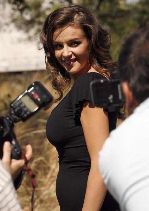 Iva Kubelková, která v nové řadě bude hrát Danielu Hartlovou.