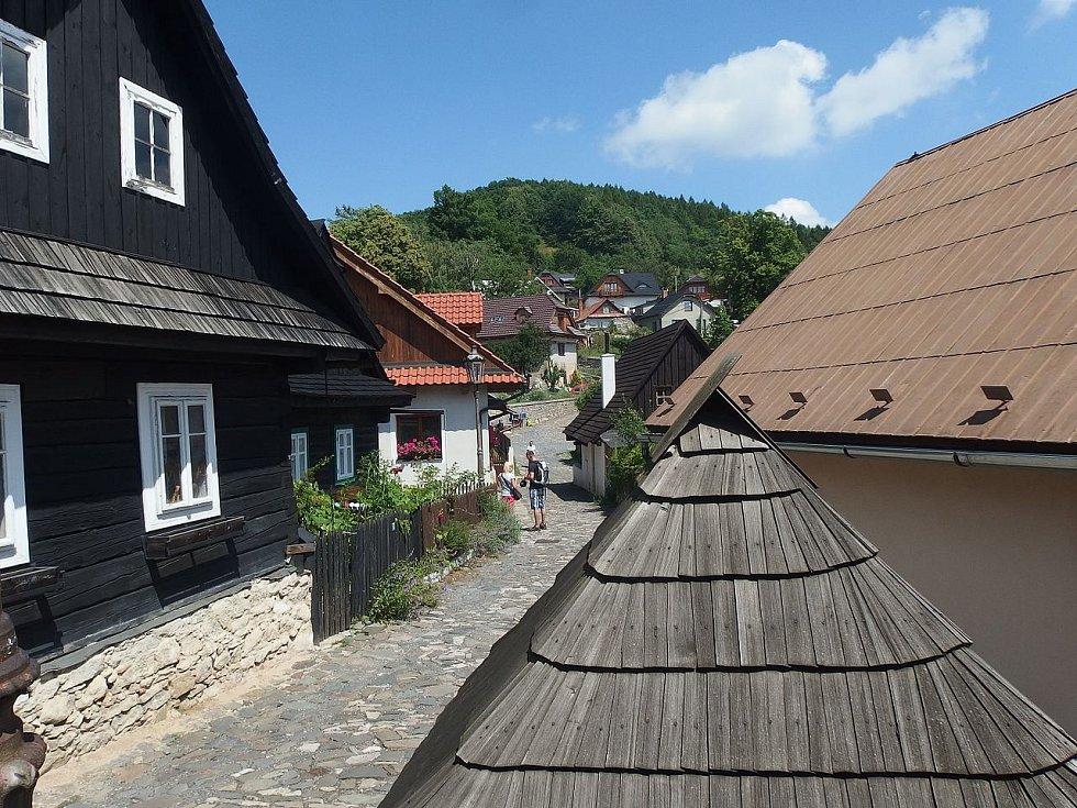 Jaroňkova ulička ve Štramberku