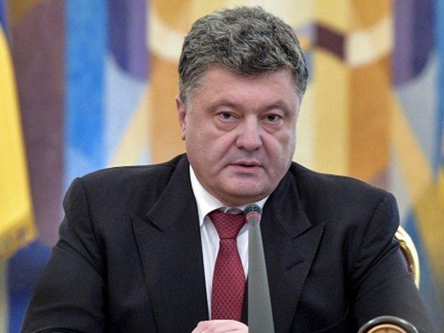 Ukrajinský prezident Petro Porošenko.